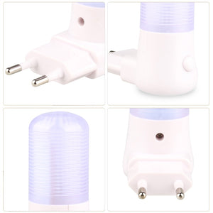 AC 110-220V LED Night Light EU/US Plug Bedside Lamp for Children Baby Bedroom Wall Socket Light Home Decoration Lamp
