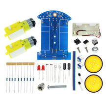 Load image into Gallery viewer, 2019 4/2WD Robot Smart Car Chassis Kits with Speed Encoder for Arduino 51 M26 DIY Education Robot Smart Car Kit For Student kids