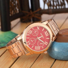 Load image into Gallery viewer, New Brand 3 Eyes Silver Geneva Casual Quartz Watch Women Stainless Steel Dress Watches Relogio Feminino Ladies Clock Hot Sale