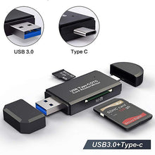 Load image into Gallery viewer, OTG Micro SD Card Reader USB 3.0 Card Reader 2.0 For USB Micro SD Adapter Flash Drive Smart Memory Card Reader Type C Cardreader