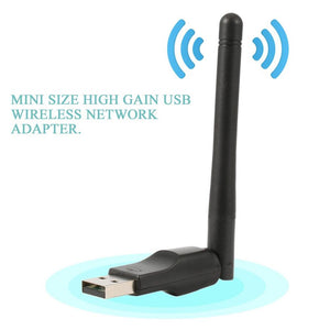 Mini Wireless Wifi Adapter 150 Mbps 20dBm Antenna USB Wifi Receiver Network Card 802.11b/n/g Wifi Adaptador Mini WiFi Dongle