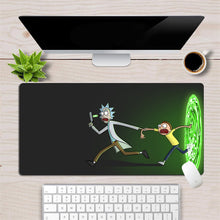 Load image into Gallery viewer, Custom Rick And Morty Anime Mouse Pad Gamer Large Locking Edge Soft Durable Gaming Mousepad Non-slip Rubber Computer  Desk Mat