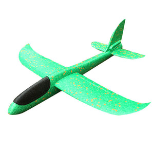 36cm DIY flying plane Hand Throw Flying Glider airplanes Toys For Children Foam Aeroplane Model Party Outdoor Fillers Glider