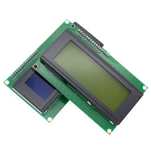 Load image into Gallery viewer, LCD2004+I2C 2004 20x4 2004A Blue/Green screen HD44780  Character LCD /w IIC/I2C Serial Interface Adapter Module for arduino
