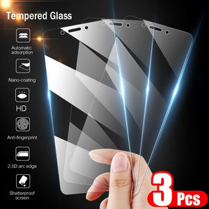 3PCS 9H Tempered Glass For Xiaomi Redmi Note 5 6 Pro 7 Screen Protector Protective Glass For Xiaomi Redmi 6 6A 5 Plus Glass