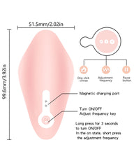 Load image into Gallery viewer, Invisible Wearable Strapon dildo Clitoris Stimulator Wireless Remote Control Silicone Waterproof Vibrator Panties sex for couple