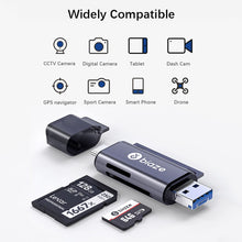 Load image into Gallery viewer, Biaze USB-C Card Reader USB 2.0 Micro SD TF Cards OTG Memory Card Adapter for PC Laptop Phones Type C Micro USB SD Card Reader