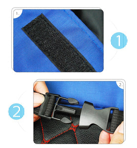 Car Rear Seat Back Storage Bag Multi Hanging Nets Pocket Trunk Bag Organizer Auto Stowing Tidying Interior Accessories Supplies