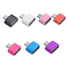 Load image into Gallery viewer, Mini Micro USB Male to UUSB 3.0 Type-C OTG Cable Adapter Type C USB-C OTG Converter for  Xiaomi Mi5 Mi6 Huawei Samsung USB DIsk