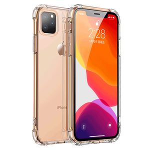 Shockproof Silicone Phone Case For iPhone X XS Max XR 6 6S 7 8 Plus Transparent Protection Back Cover On iphone 11 pro Max Case