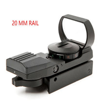 Load image into Gallery viewer, Riflescope 20mm Rail Holographic Red Dot Sight 4 Reticle tactical Scope Collimator Optical sight Hunting Airsoft Optics