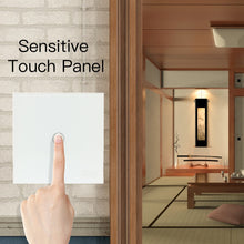 Load image into Gallery viewer, NEO COOLCAM Z-wave plus 1CH EU Wall Light Switch Home Automation ZWave Wireless Smart Remote Control Light Switch