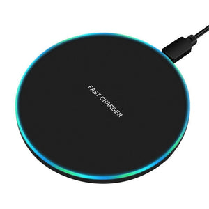FDGAO 10W Fast Wireless Charger For Samsung Galaxy S10 S9/S9+ S8 Note 9 USB Qi Charging Pad for iPhone 11 Pro XS Max XR X 8 Plus