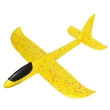Load image into Gallery viewer, Glider Planes Hand Throw Flying DIY Led Flashing Aircraft Airplane Model Foam Aeroplane Party Game Toys For Children Kids Gift
