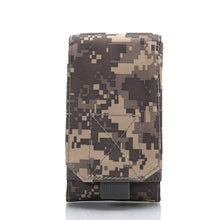 Load image into Gallery viewer, New Outdoor Tactical Phone Bag MOLLE Army Camo Camouflage Bag Hook Loop Belt Pouch 1000D Nylon  Mobile Package