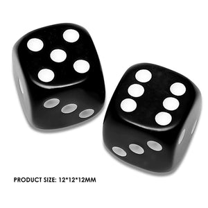 Deluxe Dice Rolling Dice Rounded Dice Stimulating Amusing 12mm 10pcs Party Club Bar Entertainment Gaming