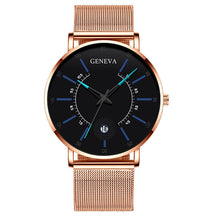 Load image into Gallery viewer, Relogio Masculino 2020 Fashion Mens Business Minimalist Watches Luxury Ultra Thin Stainless Steel Mesh Band Analog Quartz Watch