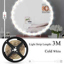 Load image into Gallery viewer, USB LED 12V Makeup Lamp Wall Light Beauty 2 6 10 14 Bulbs Kit For Dressing Table Stepless Dimmable Hollywood Vanity Mirror Light