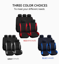 Load image into Gallery viewer, Car Seat Covers Interior Accessories Airbag Compatible AUTOYOUTH Seat Cover For Lada Volkswagen Red Blue Gray Seat Protector