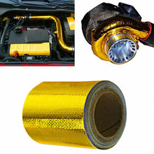 Load image into Gallery viewer, Exhaust Pipe Aluminum Foil High Temperature Wrap Tape Reflective Heat Shield