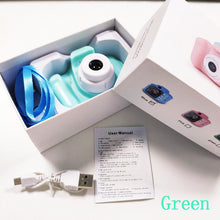 Load image into Gallery viewer, Mini Digital Camera Toys for Kids 2 Inch HD Screen Chargable Photography Props Cute Baby Child Birthday Gift Outdoor Game