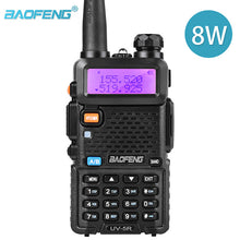 Load image into Gallery viewer, Baofeng UV-5R Walkie Talkie UV5R CB Radio Station 8W 10KM 128CH VHF UHF Dual Band UV 5R Two Way Radio for Hunting Ham Radios