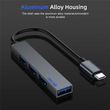 Load image into Gallery viewer, Type C HUB 4 Port USB-C to USB 2.0 Splitter Converter OTG Adapter Cable for Macbook Pro iMac PC Laptop Notebook Accessories