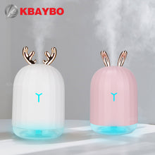 Load image into Gallery viewer, KBAYBO 220ml USB Diffuser Aroma Essential Oil Humidifier Ultrasonic diffuser 7 Color Change LED Night light Cool Mist for home
