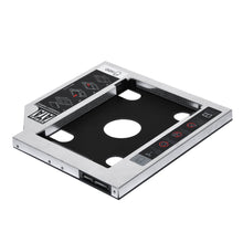 "Load image into Gallery viewer, Sunvalley Aluminum Alloy&Plastic 9.5mm 2nd HDD Caddy SATA To SATA 3.0 For Laptop DVD/CD-ROM Optical Bay 2.5"" HDD SSD Case"