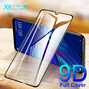 9D Tempered Glass on the For Huawei Honor 9 10 20 Lite 9i 10i 20i 8X 8A 8C 8S Screen Protector Safety Protective Glass Film Case