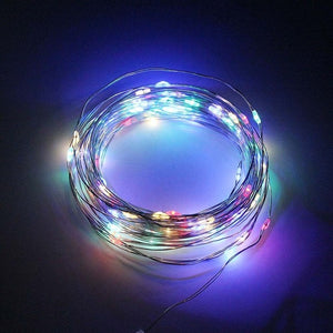 ANBLUB Outdoor 10M 20M Solar Lamp LED String Fairy Lights Flash 100/200leds Waterproof For Christmas Garden Wedding Decoration