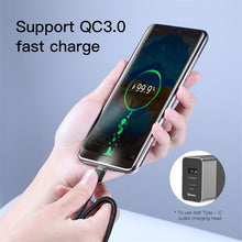 Load image into Gallery viewer, Baseus USB C to USB Type C Cable for Xiaomi Redmi Note 8 Pro Quick Charge 4.0 PD 60W Fast Charging for MacBook Pro Charger Cable