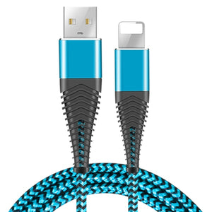 Coolreall USB Cable for iPhone 11 pro max Xr X 8 7 6 plus 6s 5 s plus iPad 2.4A Fast Charging Cable Cord Mobile Phone Data Cable