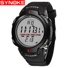 Load image into Gallery viewer, SYNOKE Watches Men 30M Waterproof Electronic LED Digital Watch Men Outdoor Mens Sports Wrist Watches Stopwatch Relojes Hombre