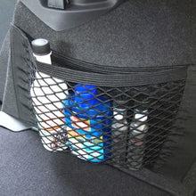 Load image into Gallery viewer, Strong Elastic Car Mesh Net Bag Between Car Organizer Seat Back Storage Bag Luggage Holder Pocket for Car Styling