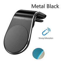 Load image into Gallery viewer, Rock Metal Magnetic Car Phone Holder for iPhone Samsung Xiaomi 360 Air Magnet Stand in Car GPS