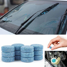 Load image into Gallery viewer, 10pc(1pc=4L Water)Car Wiper Cleaner Solid Effervescent Spray Car Cleaner Auto Window Windshield Glass Cleaner Auto Car Accessory