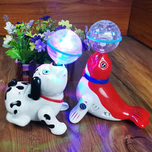 Load image into Gallery viewer, Hot Selling Electric Robot Dog Toys Can Bark Walking Animals Forward Toy Music 3D Light for Children Gifts