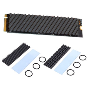 Pure Copper Graphene Heatsink M.2 NGFF 2280 PCI-E NVME SSD Thermal Pad Cooler