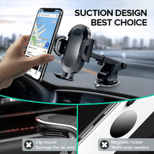 Load image into Gallery viewer, INIU Sucker Car Phone Holder in Car Clip Air Vent Mount No Magnetic Cell Stand Support Mobile Smartphone For iPhone Xiaomi