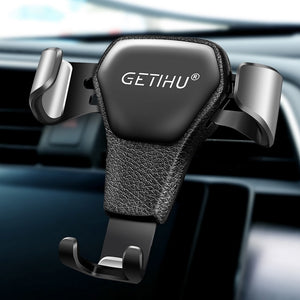 GETIHU Gravity Car Holder For Phone in Car Air Vent Clip Mount No Magnetic Mobile Phone Holder Cell Stand Support For iPhone X 7