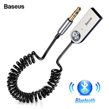 Load image into Gallery viewer, Baseus Bluetooth Adapter USB Dongles Cable For Car 3.5mm AUX Bluetooth V5.0 4.2 4.0 Bluetooth Receiver Speaker Audio Transmitter