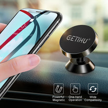 Load image into Gallery viewer, GETIHU Universal Magnetic Car Phone Holder Stand in Car For iPhone X Samsung Magnet Air Vent Mount Cell Mobile Phone Support GPS