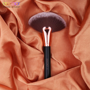 Docolor foundation brush flat top buffing Brushes Fan Contour Powder Brush highlighter makeup Brushes Pincel Maquiagem
