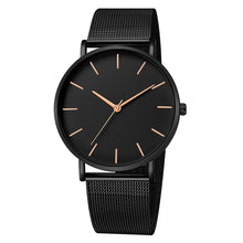 Load image into Gallery viewer, 2019 Montre Femme Modern Women Watch Fashion Black Quartz Wristwatch Women Mesh Band Simple Watches Luxury Ladies Reloj Mujer