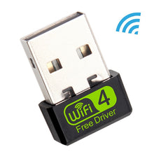 Load image into Gallery viewer, Mini USB WiFi Adapter MT7601 150Mbps Wi-Fi Adapter For PC USB Ethernet WiFi Dongle 2.4G Network Card Antena Wi Fi Receiver