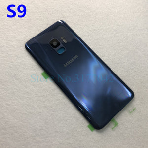 SAMSUNG Back Battery Cover For Samsung Galaxy S9 Plus s9+ G965 SM-G965F G965FD S9 G960 SM-G960F G960FD Back Rear Glass Case