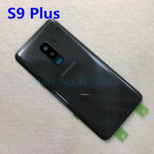 Load image into Gallery viewer, SAMSUNG Back Battery Cover For Samsung Galaxy S9 Plus s9+ G965 SM-G965F G965FD S9 G960 SM-G960F G960FD Back Rear Glass Case