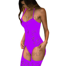 Load image into Gallery viewer, Porn Sexy Lingerie Women Hot Erotic Baby Dolls Dress Women Teddy Lenceria Sexy Mujer Sexi Babydoll Underwear Sexy Costumes
