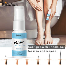 Load image into Gallery viewer, Organic Herbal Permanent Hair Growth Inhibitor Repair Nourish Smooth Body Hair Removal Spray for Private Parts Leg Facial Hair